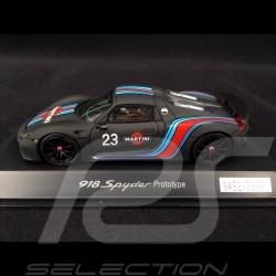 Porsche 918 Spyder Martini Prototype n° 23 schwarz 1/43 Spark WAP0201070E