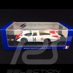 Porsche 908 Paris 1968 n°14 1/43 Spark SF051