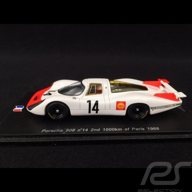 Porsche 908 Paris 1968 n°14 1/43 Spark SF051
