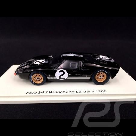 Ford GT40 Mk II n° 2 Sieger Le Mans 1966 1/43 Spark 43LM66