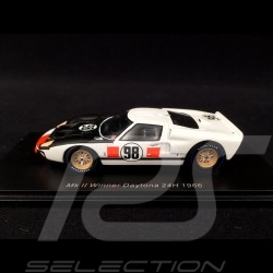 Ford GT40 Mk II n° 98 vainqueur Winner Sieger 24h Daytona 1966 Ken Miles 1/43 Spark 43DA66