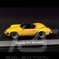 Porsche 911 Speedster 1988 Yellow lime 1/43 Minichamps 940066131