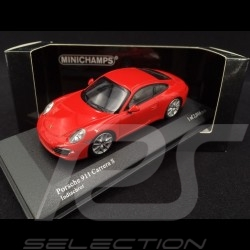 Porsche 911 type 991 Carrera S 2012 rouge Indien 1/43 Minichamps 410060220 guards red Indischrot