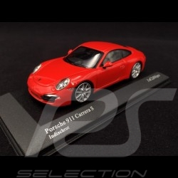 Porsche 911 typ 991 Carrera S 2012 Indischrot 1/43 Minichamps 410060220