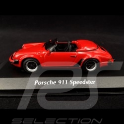 Porsche 911 Speedster 1988 Guards red 1/43 Minichamps 940066130