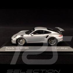 Porsche 991 GT3 RS 2014 silber 1/43 Minichamps 410063220
