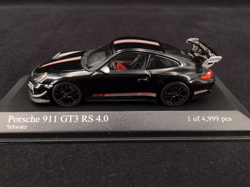 Porsche 911 Type 997 Gt3 Rs 4 0 2011 Black 1 43 Minichamps 400069102 Selection Rs
