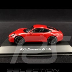 Porsche 911 type 991 Carrera GTS 2015 Guards red 1/43 Schuco WAP0201000F