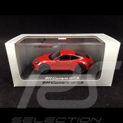 Porsche 911 991 Carrera GTS 2015 rouge indien guards red indischrot 1/43 Schuco WAP0201000F