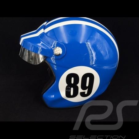 Helmet Monte Carlo n° 89 France blue / white stripes