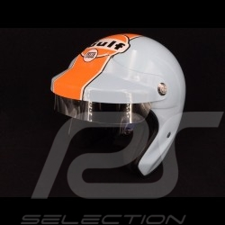 Casque Gulf Le Mans bleu Gulf / orange helmet helm