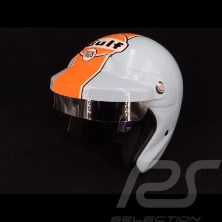 Gulf Helmet Le Mans Gulf blue / orange