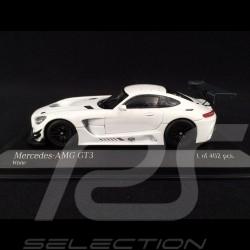 Mercedes AMG GT3 2017 presentation version white 1/43 Minichamps 410173200
