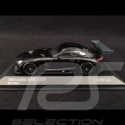 Mercedes AMG GT3 2017 presentation version matte black 1/43 Minichamps 410173201