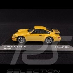 Porsche 911 Turbo typ 964 1990 Speedgelb 1/43 Minichamps 430069110