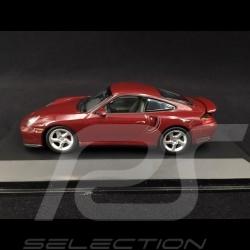 Porsche 911 Type Typ 996 1999 Rouge Arena Métallisé Red Metallic Arenarotmetallic 1/43 Minichamps 430069300