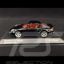 Porsche 911 turbo type 997 Ph I 2006 black 1/43 Minichamps 400065200