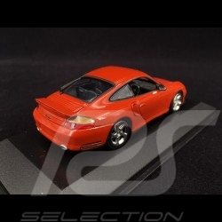 Porsche 911 Typ 996 Turbo 1999 orangerot perlcolor 1/43 Minichamps 430069308