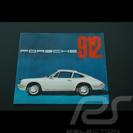 Brochure PORSCHE 912