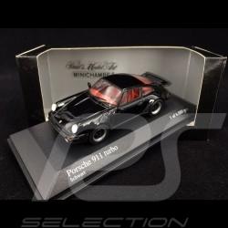 Porsche 911 3.0 Turbo type 930 1977 black 1/43 Minichamps 430069006