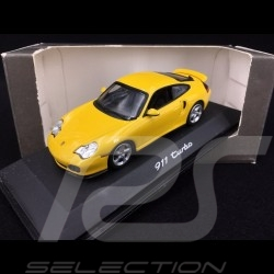 Porsche 996 Turbo 2000 speed yellow 1/43 Minichamps WAP02006410