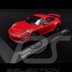Porsche 911 Typ 991 2017 karminrot 1/43 Minichamps 413066025