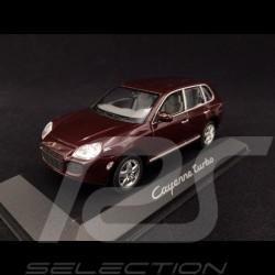 Porsche Cayenne Turbo phase Mk 1 aubergine 1/43 Minichamps WAPC2000113