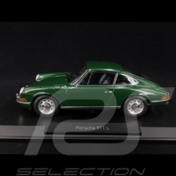 Porsche 911 L 2.0 1968 vert Irlandais 1/18 Norev 187640 Irish green Irishgrün