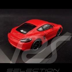 Porsche Cayman GTS 981 rouge 1/43 Minichamps WAP0200150E