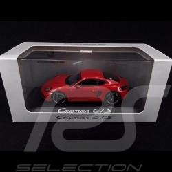 Porsche Cayman GTS Type Typ 981 rouge carmin carmine red karminrot 1/43 Minichamps WAP0200150E
