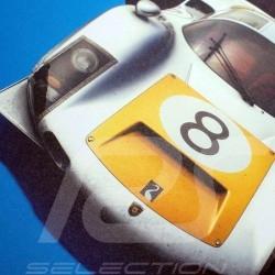Porsche Poster 906 Carrera 6 Sieger GP Japan Fuji 1967