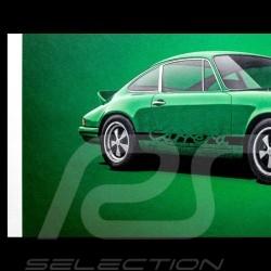Porsche Poster 911 Carrera RS 1973 Viper green