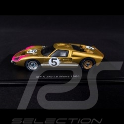 Ford GT40 Mk II n° 5 Platz 3 Le Mans 1966 1/43 Spark S4076