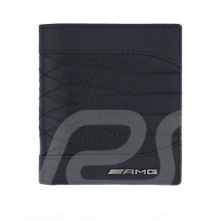 Portefeuille wallet geldbörse Mercedes AMG petite taille cuir noir small size leather black kleines leder schwarz Mercedes-Benz