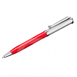 Stylo à bille ballpoint pen Kugelschreiber Mercedes Classic métal metal metall rouge red rot Mercedes-Benz B66043351