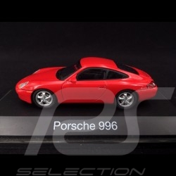 Porsche 911 type 996 1997 rouge Indien 1/43 Schuco 04342 guards red indischrot