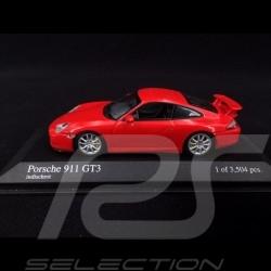 Porsche 911 GT3 type 996 2003 rouge Indien 1/43 Minichamps 400062020 Guards red Indischrot