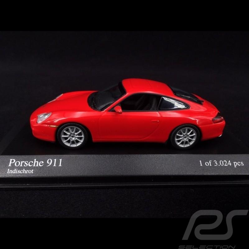 Porsche 911 type 996 2001 Guards red 1/43 Minichamps 400061024