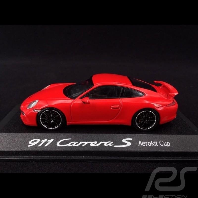 Porsche 911 type 991 Carrera S Aerokit cup 2012 red 1/43 Minichamps WAP0201130D