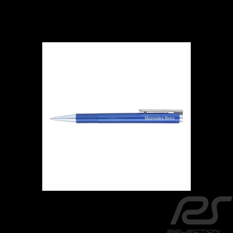 Stylo Mercedes Lamy pen shiny blue bleu brillant Stift brillant blau Mercedes-Benz B66956168