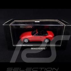 Porsche 944 Cabriolet 1991 Guards red 1/43 Minichamps 400062230