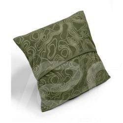 Oreiller pillow kissen Mercedes polaire fleece polyester kaki khaki / beige Mercedes-Benz B66958973