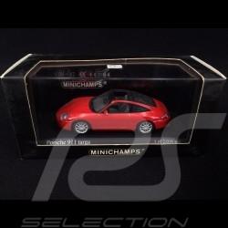 Porsche 911 typ 996 Targa 2001 Indischrot 1/43 Minichamps 400061060