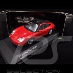 Porsche 911 type 996 Targa 2001 rouge Indien 1/43 Minichamps 400061060 guards red Indischrot