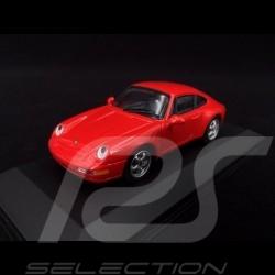 Porsche 911 typ 993 1993 Indischrot 1/43 Minichamps 430063007