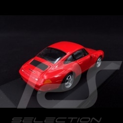 Porsche 911 type 993 1993 Guards red 1/43 Minichamps 430063007