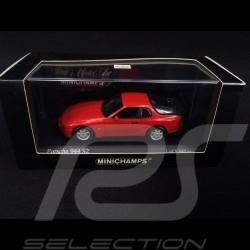 Porsche 944 S2 1989 guards red 1/43 Minichamps 400062220