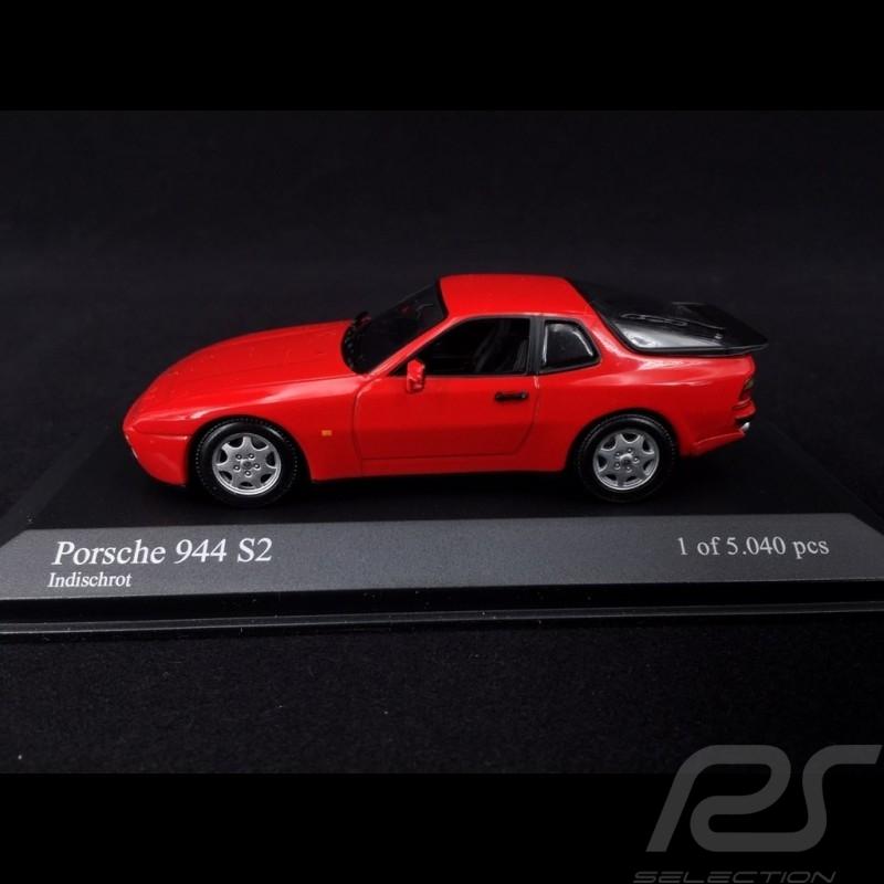 Porsche 944 S2 1989 rouge Indien 1/43 Minichamps 400062220 guards red Indischrot
