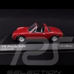 Porsche 914 /4 1973 Colorado red 1/43 Minichamps 430065670