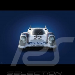 Porsche Poster 917 K 24h Le Mans 1971 Gulf  n°19 - Colors of Speed